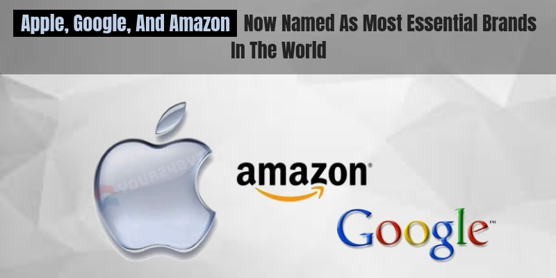 Apple, Google and Amazon